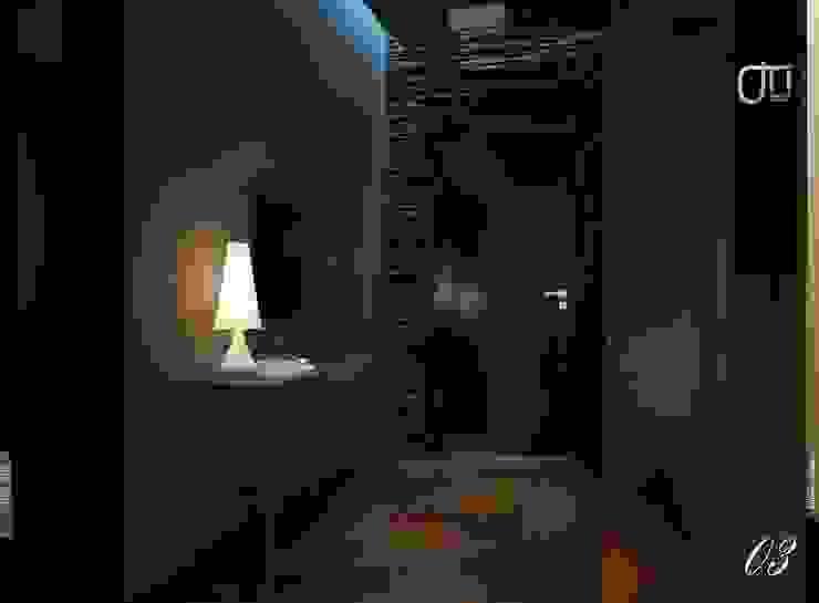 La Terra Residence 現代風玄關、走廊與階梯 根據 Ori - Architects 現代風