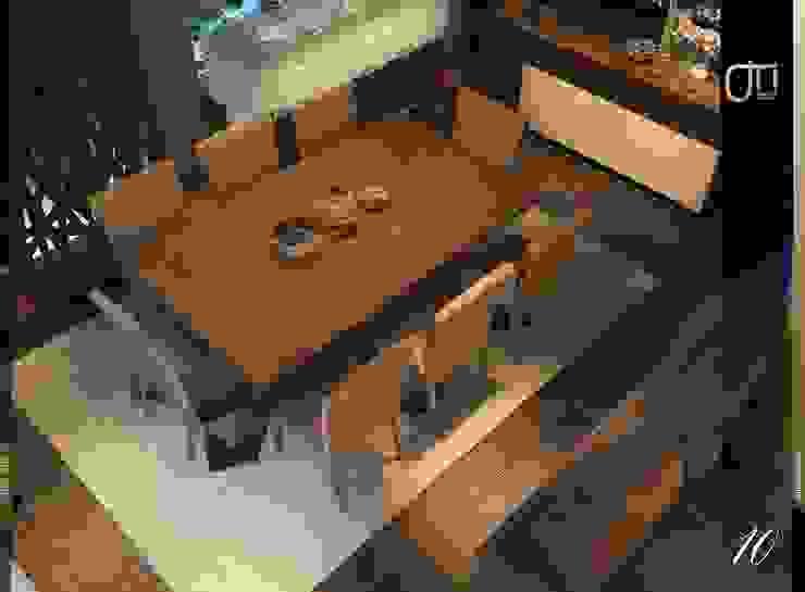 La Terra Residence Ruang Makan Modern Oleh Ori - Architects Modern