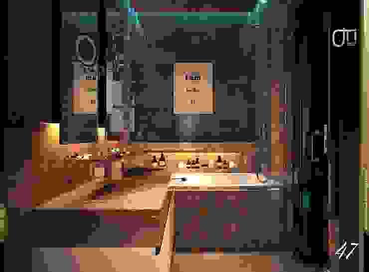 La Terra Residence 現代浴室設計點子、靈感&圖片 根據 Ori - Architects 現代風