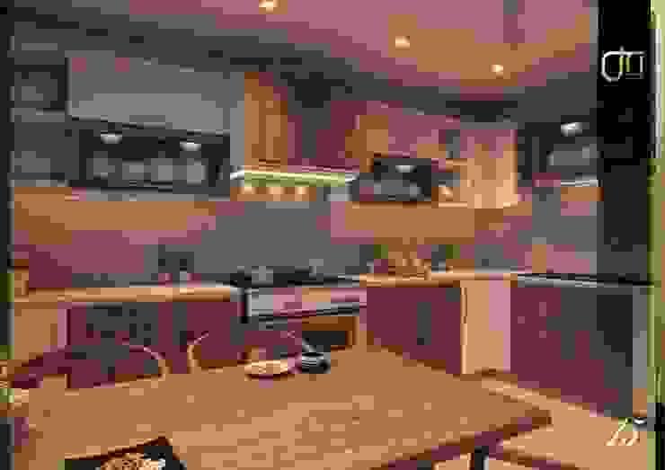 La Nouva Residence Modern kitchen by Ori - Architects Modern