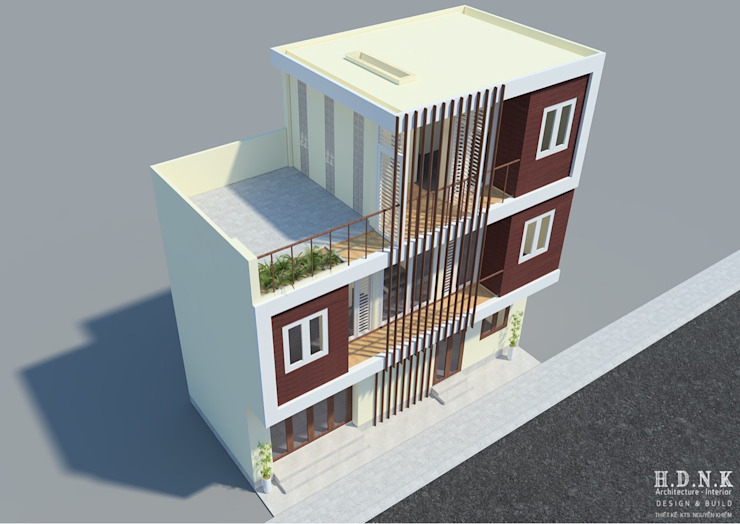 by Cty TNHH tư vấn thiết kế Kiến Trúc & Nội thất H.D.N.K