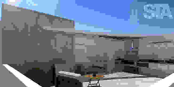 Terraza Balcones y terrazas modernos de Soluciones Técnicas y de Arquitectura Moderno