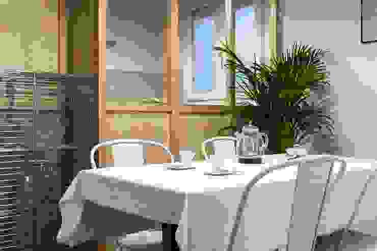Hiruki studio Industrial style dining room