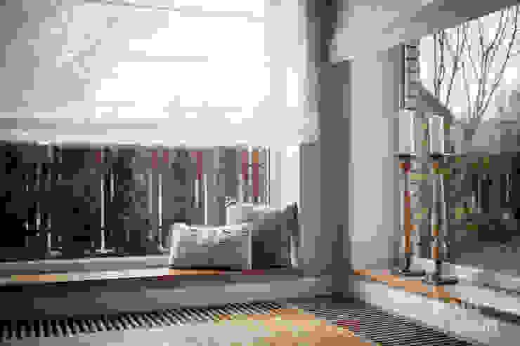 HOLADOM Ewa Korolczuk Studio Architektury i Wnętrz Living room White