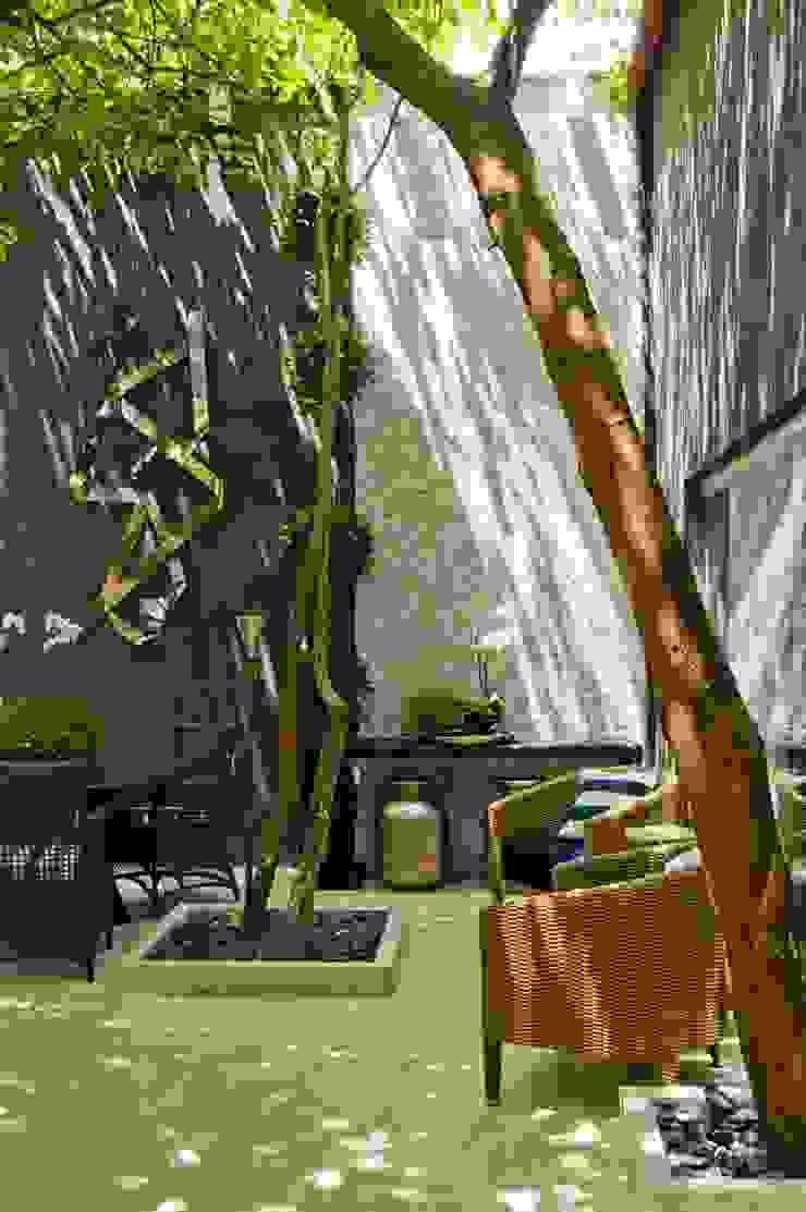 Interart Design de Interiores Modern conservatory Stone Brown