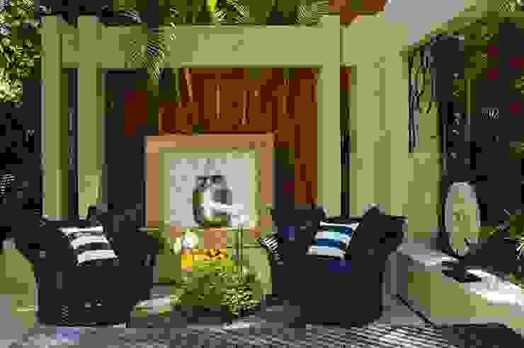 Interart Design de Interiores Modern conservatory Stone Blue