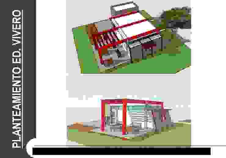 Modern Living Room by Grupo GAAB SAS - Arquitectura & Diseño Modern Glass