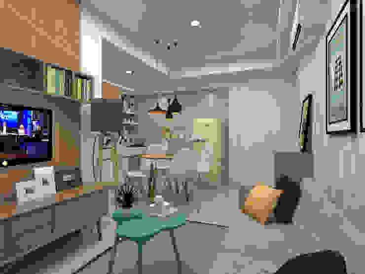 3D Apartment Trivium Terace, Cikarang Bekasi Oleh ARKON Skandinavia
