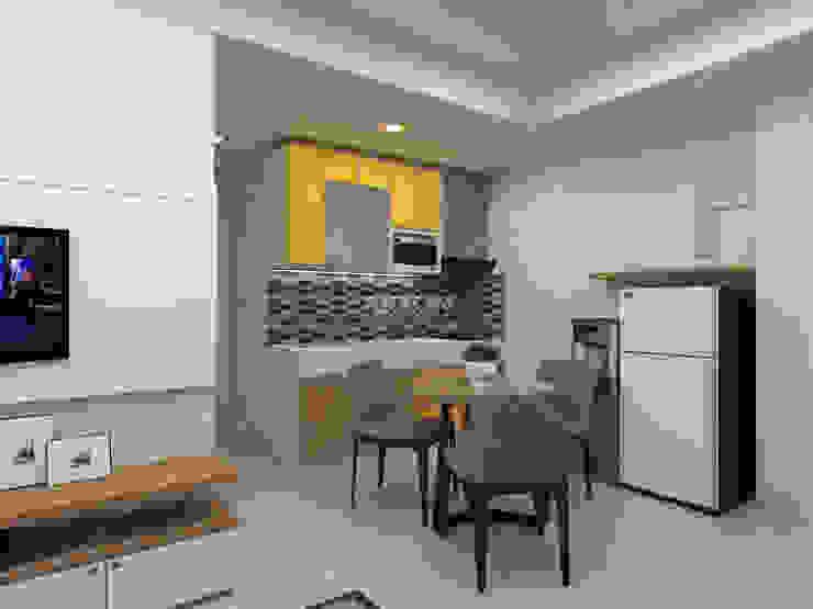 3D Apartment Trivium Terace, Cikarang Bekasi:modern  oleh ARKON, Modern