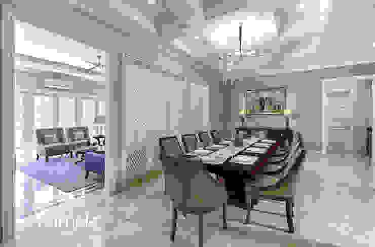 American Classic home Ruang Makan Klasik Oleh Kamala Interior Klasik