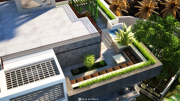 Green Heights de Belal Samman Architects Moderno
