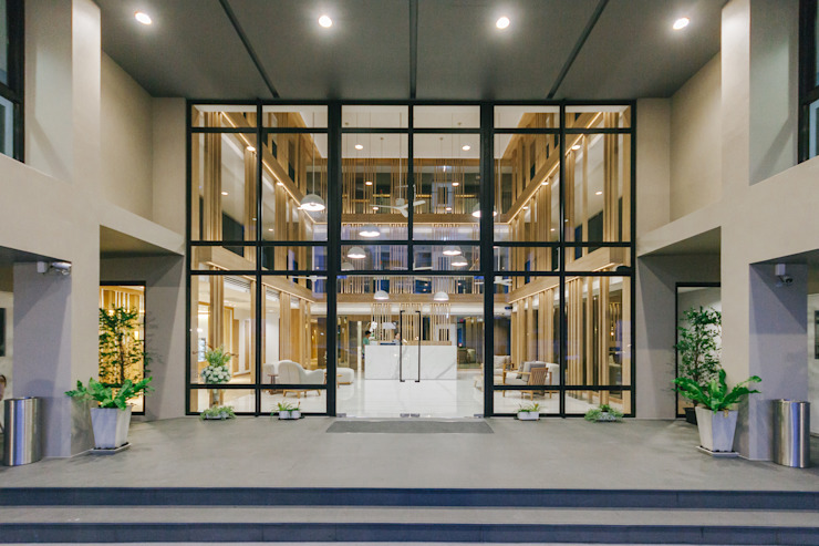 Mii Hotel Lobby โดย บริษัท เพอเซพชั่น สตูดิโอ จำกัด ผสมผสาน