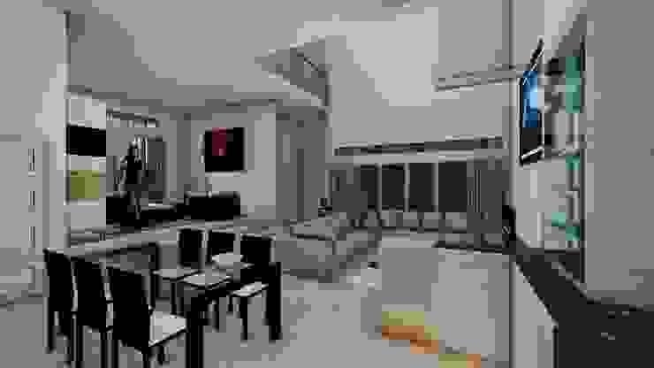 Dining Area Ruang Makan Minimalis Oleh Pr+ Architect Minimalis