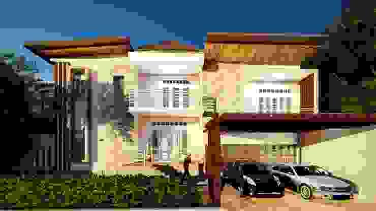 BS House Oleh Pr+ Architect Minimalis