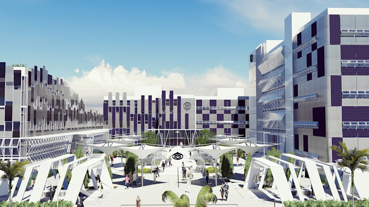 Palembang Energy & Mineral High School Oleh Pr+ Architect