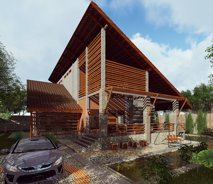RH House Oleh Pr+ Architect