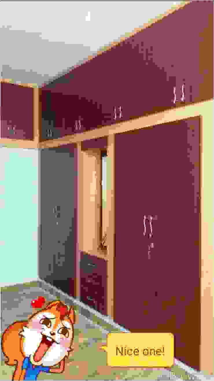 wardrobe : classic  by sms interior  decorators ,Classic MDF