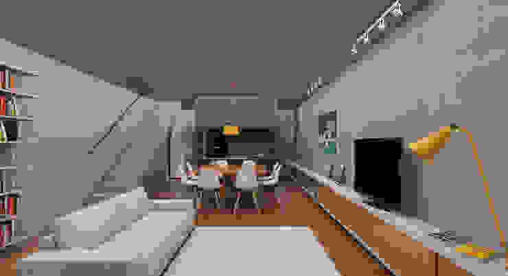 Modern living room by CEU Arquitetos Modern