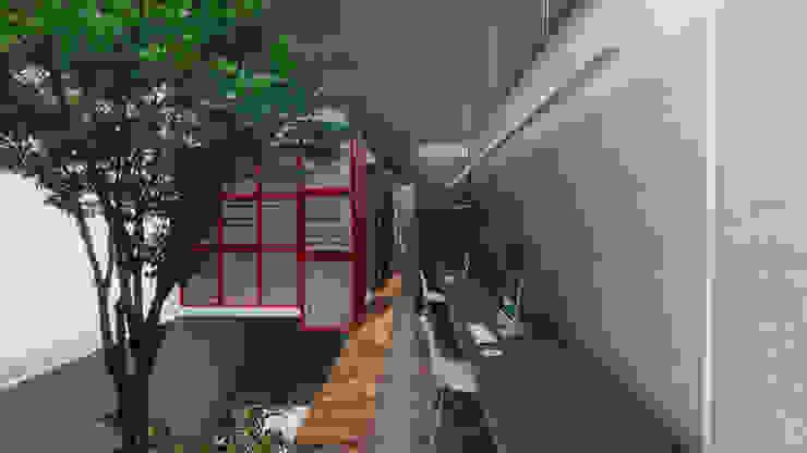 Modern study/office by CEU Arquitetos Modern