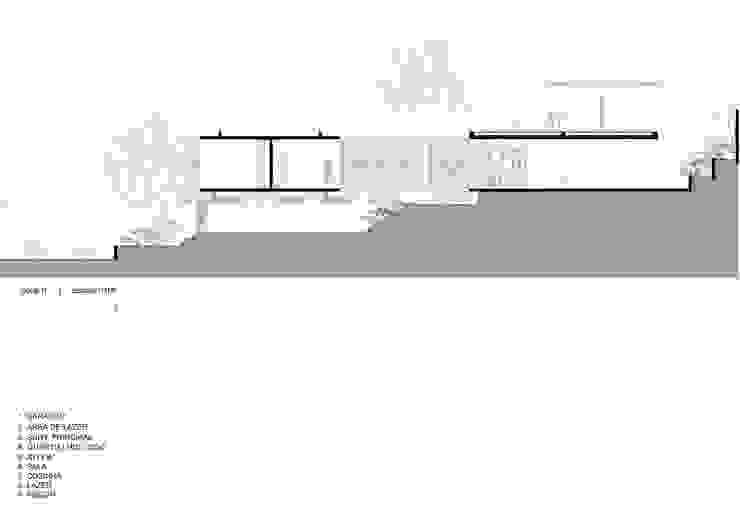 Modern houses by CEU Arquitetos Modern