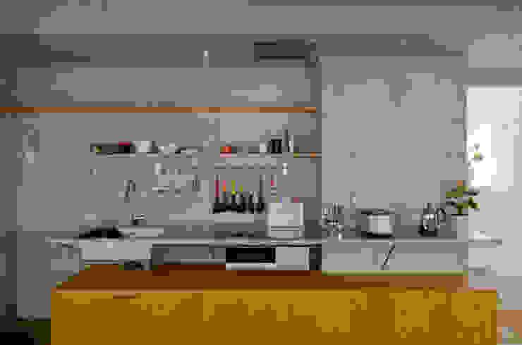 KITCHEN 武藤圭太郎建築設計事務所 モダンな キッチン