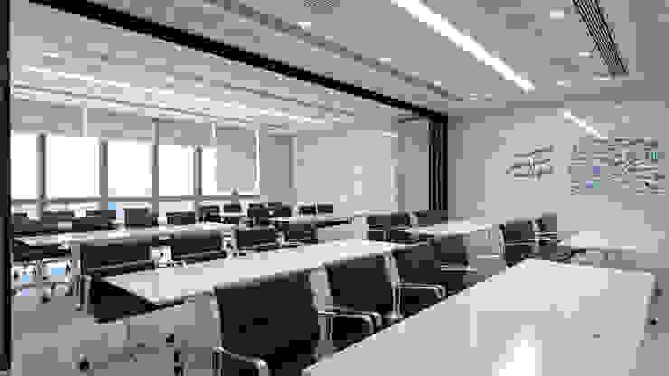 ห้องประชุม โดย DD Double Design โมเดิร์น
