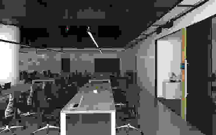 พื้นที่ทำงานฝ่าย Business โดย DD Double Design โมเดิร์น