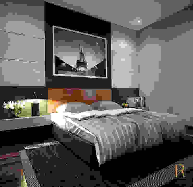 VILLA – VŨNG TÀU Phòng ngủ phong cách hiện đại bởi REAL HOME VN Hiện đại