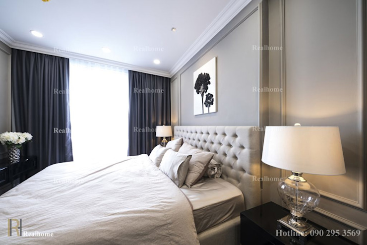 ORCHARD GARDEN APARTMENT:  Phòng ngủ by REAL HOME VN