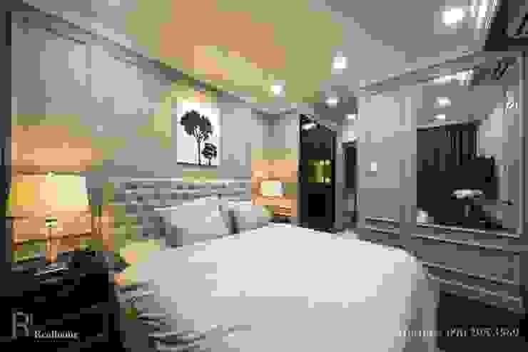 ORCHARD GARDEN APARTMENT Phòng ngủ phong cách Bắc Âu bởi REAL HOME VN Bắc Âu