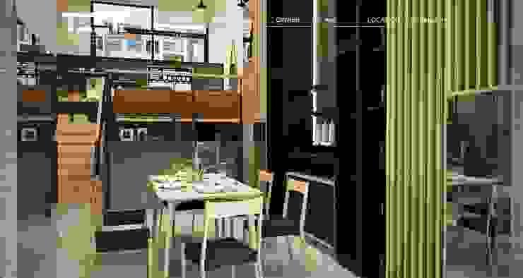 Arden House ที่พักอาศัย ทาวน์โฮม 3 ชั้น โดย Teek interior design