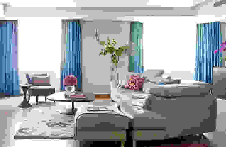 紐約家居 New York New York 现代客厅設計點子、靈感 & 圖片 根據 瑄境設計 Xuan Jing 現代風