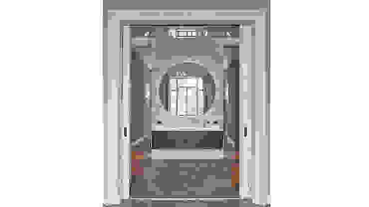 Modern ontwerp in monumentale stadswoning Moderne badkamers van BNLA architecten Modern