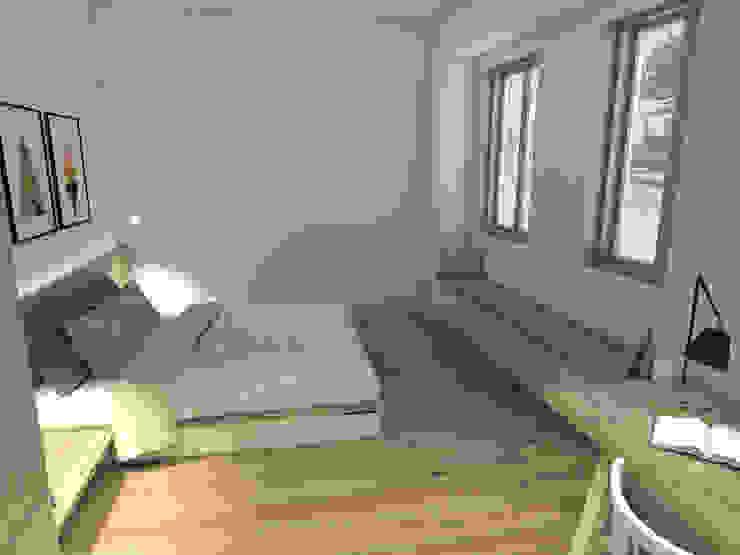 Mediterrane Schlafzimmer von Grupo Norma Mediterran