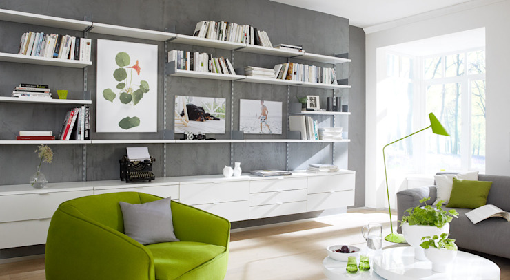 ON-WALL - Office Shelving Systems من Regalraum UK صناعي