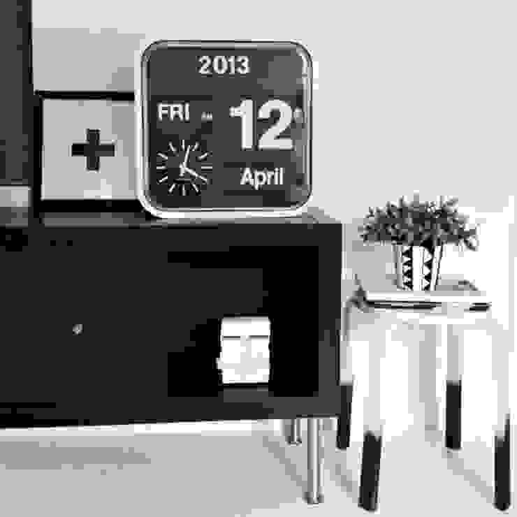 Karlsson Flip Clock Mini: modern  by Just For Clocks,Modern Plastic