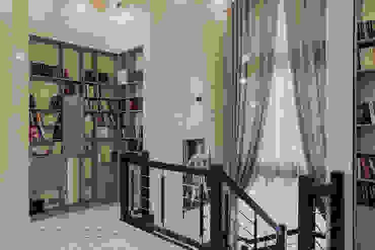 Творческая мастерская АRTBOOS Scandinavian style corridor, hallway& stairs Wood Beige