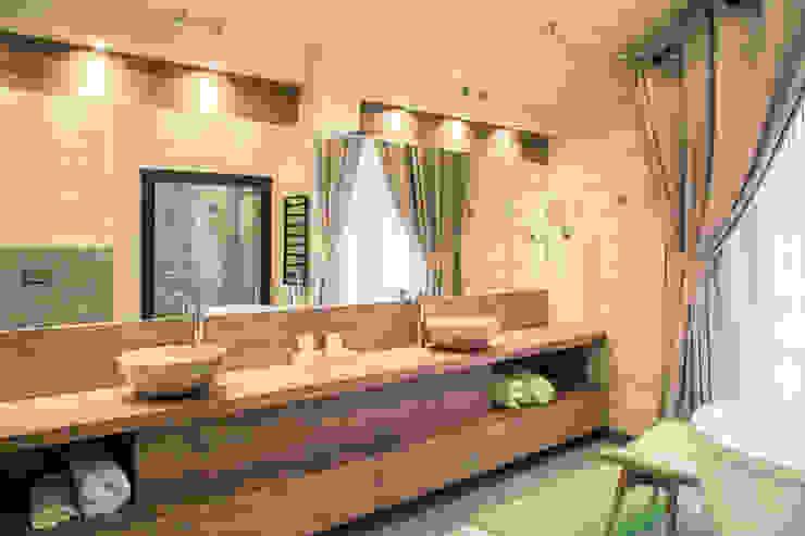 Творческая мастерская АRTBOOS Scandinavian style bathroom Wood Beige