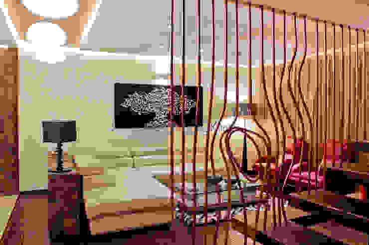 Chit Chat Modern living room by UNLOCK ©™ Modern Copper/Bronze/Brass