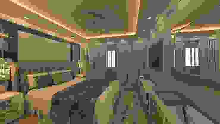 Flat in El Rehab Phòng ngủ phong cách chiết trung bởi Rêny Chiết trung