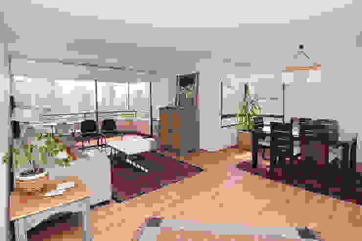 Living room by ARCOP Arquitectura & Construcción