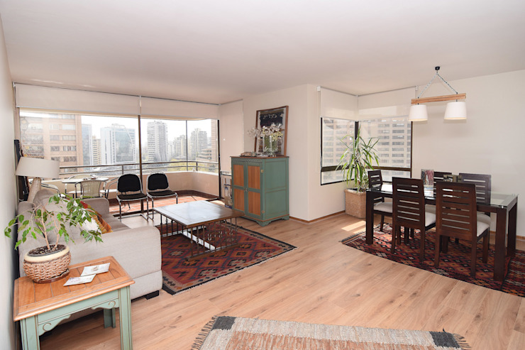Remodelación Depto Floody Livings de estilo moderno de ARCOP Arquitectura & Construcción Moderno