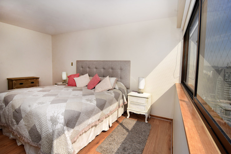 Dormitorios de estilo  por ARCOP Arquitectura & Construcción