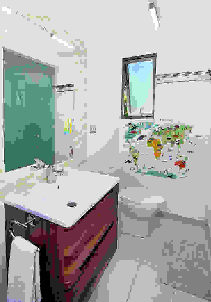 Remodelación Casa Soler Baños de estilo moderno de ARCOP Arquitectura & Construcción Moderno