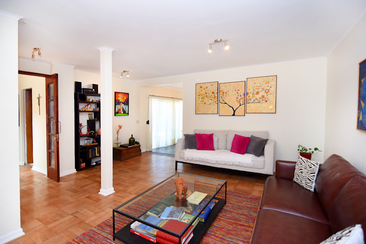 Remodelación Casa Soler Livings de estilo moderno de ARCOP Arquitectura & Construcción Moderno