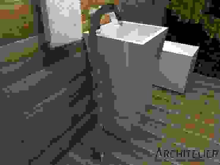 Architelier Arquitetura e Urbanismo Rustic style bathroom