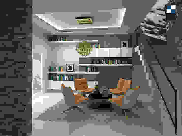 book room: ทันสมัย  โดย walkinterior , โมเดิร์น