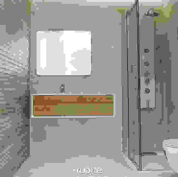 Proposta para Casa de Banho 5 Casas de banho modernas por Rubicer Moderno Cerâmica