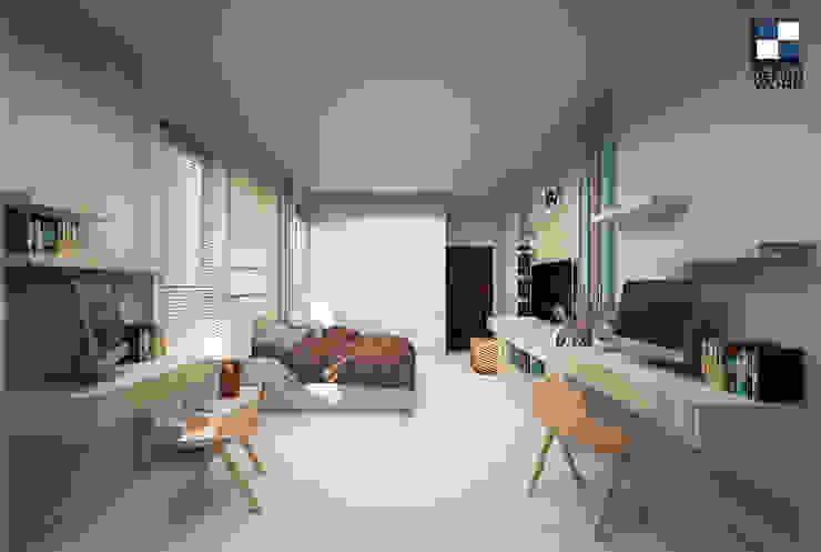 interior design: ทันสมัย  โดย walkinterior , โมเดิร์น