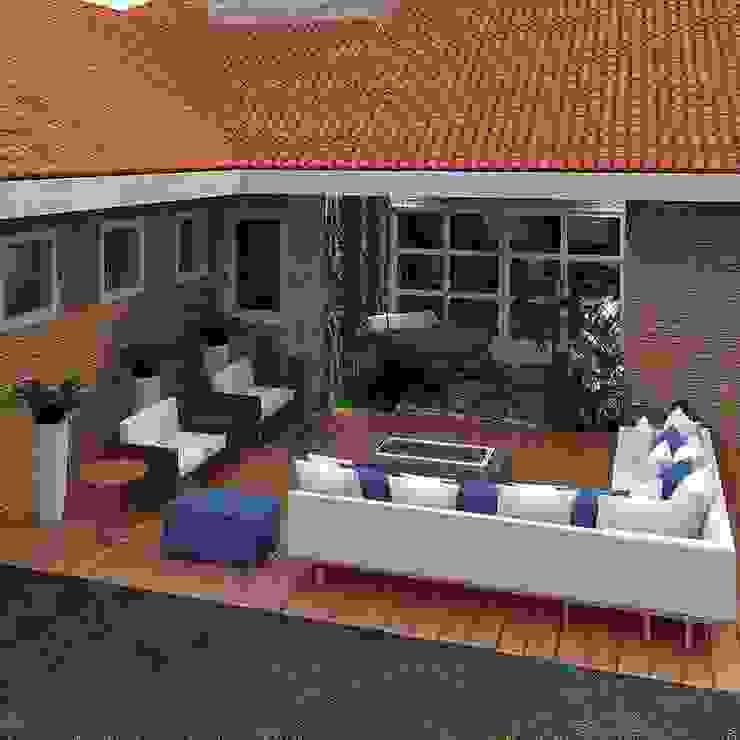 Terraço Varandas, alpendres e terraços modernos por Legrand Arquitetura Moderno